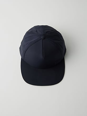 Acne Studios Covia Face E Navy blue Trucker cap