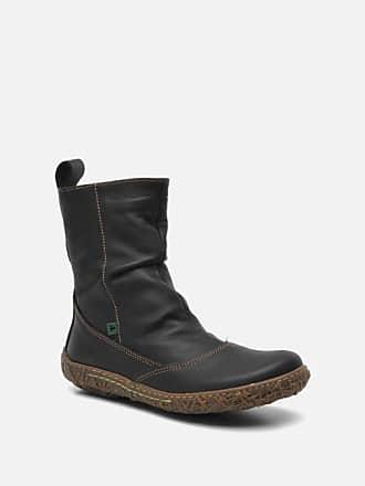 dcf8beb5df8 El Naturalista Nido Ella N722 - Boots en enkellaarsjes voor Dames / Zwart