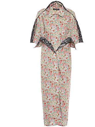 Y / Project Floral cotton shirt dress