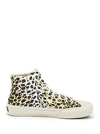 21 Men Men Straye Cheetah Print Sneakers at Forever 21 White/multi