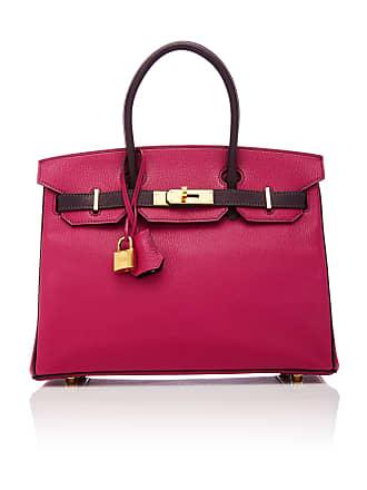 363bf94575ce Hermès Hermès 30cm Rose Pourpre and Raisin Chevre Leather Special Order  Horseshoe Birkin