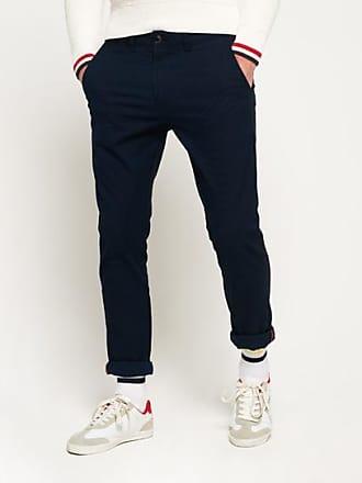 Pantalons Chino Bleu Foncé   Achetez jusqu à −60%   Stylight 408a1d7c940e