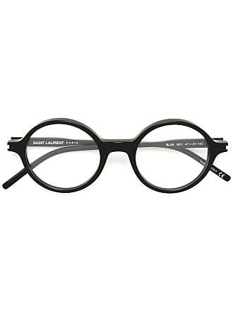 Saint Laurent Eyewear Óculos com armação redonda - Preto