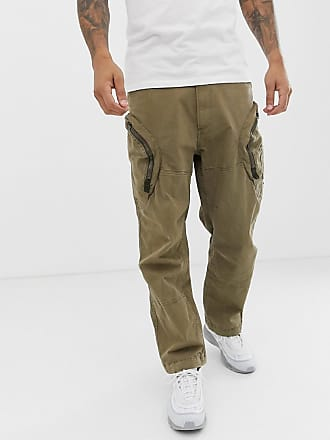 G-Star Rovic 3D airforce zip cargo pants in sand - Tan