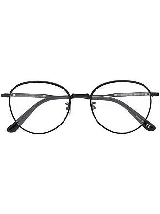 Bottega Veneta Armação de óculos redonda - Preto