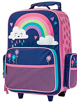 Stephen Joseph Little Girls Classic Rolling Luggage, Accessory, Rainbow, No Size