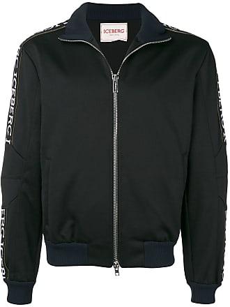 Iceberg sports branded jacket - Black