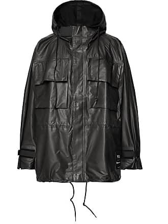 Yohji Yamamoto Oversized Gore-tex Hooded Jacket - Black