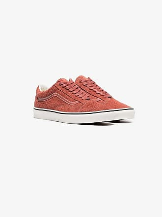 e6724f064fd1 Vans red hot sauce Old Skool suede sneakers