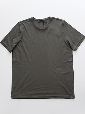 Roberto Collina Olivgrünes Kurzarm-T-Shirt - 46 | cotton | olive green - Olive green