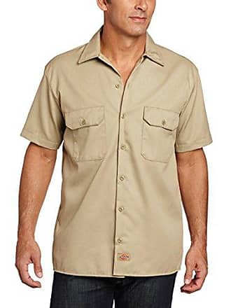 Dickies Mens Big-Tall Short-Sleeve Work Shirt,Desert Sand,2T
