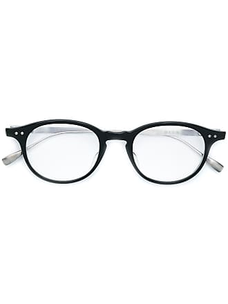 Dita Eyewear Armação de óculos oval - Preto