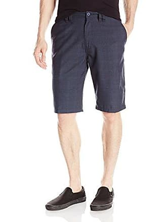 O'Neill Mens 22 Inch Outseam Classic Walk Short, Black/Delta, 44
