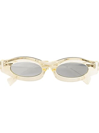 Kuboraum Óculos de sol oval - Neutro