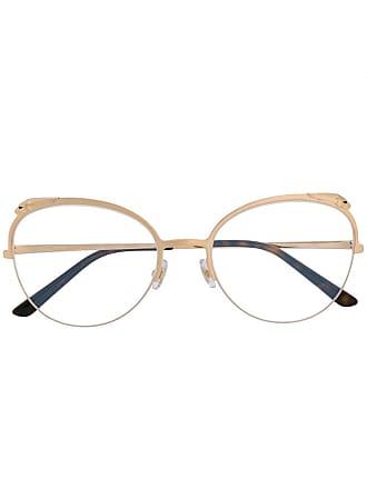 54c48610b Cartier Armação de óculos Panthère de Cartier - Dourado