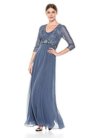 Decode 1.8 Womens Long Evening Dress, peri, 10