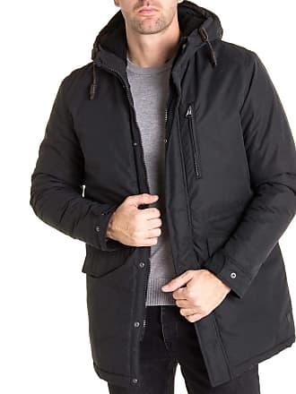80c2fb668adc3 Jack   Jones Parka veste longue fourrée ALEN noire pour homme
