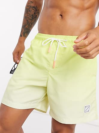 American Eagle Outfitters Palm Beach 6 microfibre swim shorts in yellow