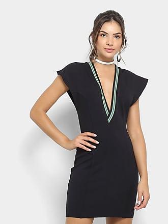 fd99fd176 Colcci Vestido Colcci Tubinho Curto Decote V - Feminino
