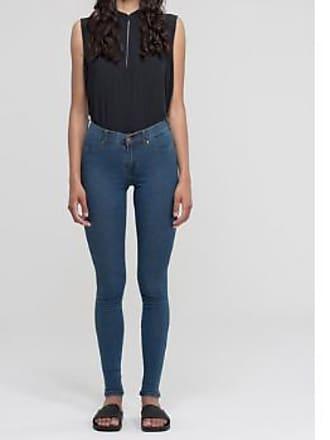 Dr. Denim Mittlere Stone Second Skin Jeans - XS - Blue