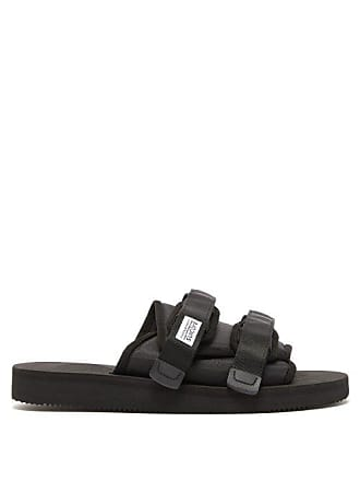 Suicoke Moto Cab Two Strap Slides - Mens - Black