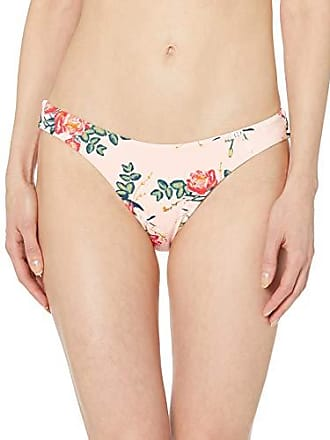 93114918942f4 Roxy Juniors Printed Beach Classics Reversible High Leg Swimsuit Bottom