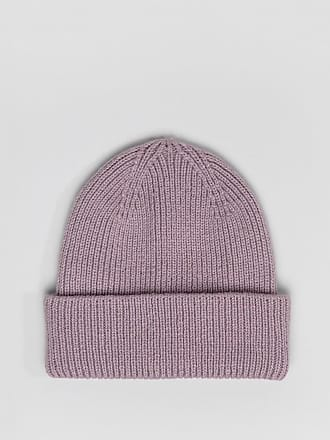 d5483cc8897 Asos boyfriend double roll beanie In recycled polyester - Purple