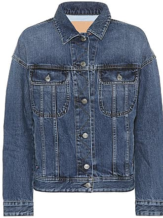 Acne Studios Blå Konst Lamp denim jacket