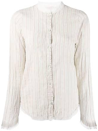 Kristensen Du Nord stripe fitted shirt - Neutro