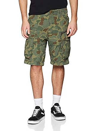 86c95118fb G-Star Rovic Zip Relaxed 12 Shorts, Noir (Sage/Battle Green Ao