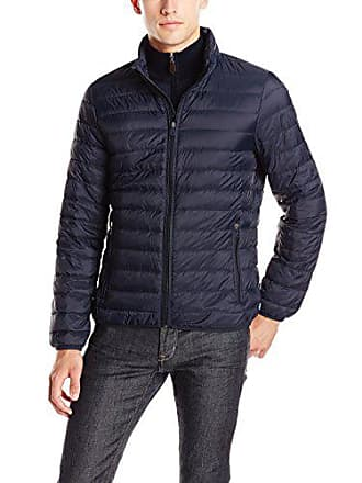 Armani Armani Jeans Mens Packable Down Jacket, Navy, 50