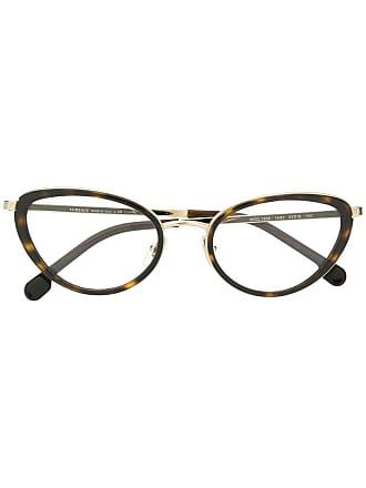 Versace Armação de óculos gatinho - Metálico