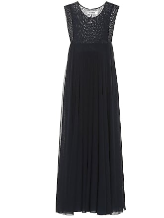 Jil Sander Tulle maxi dress