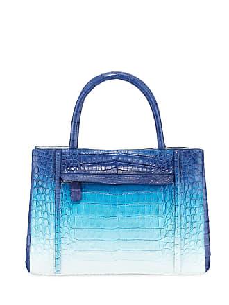 962489926e72 Nancy Gonzalez Ombre Crocodile Medium Top Handle Tote Bag