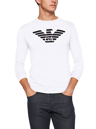 a3a5cfb2 Men's Emporio Armani® Long Sleeve T-Shirts − Shop now at £34.00+ ...