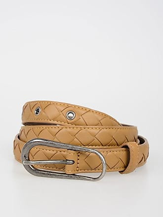 Bottega Veneta Leather Belt 2 CM size 90
