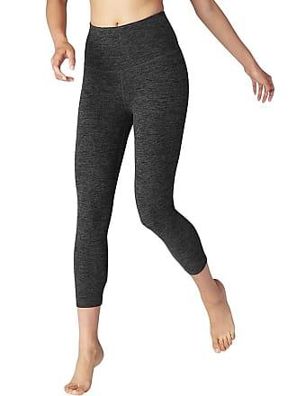 cfbb926fdf Beyond Yoga Womens Spacedye High Waist Capri Legging - Small - Black /  Charcoal Space Dye