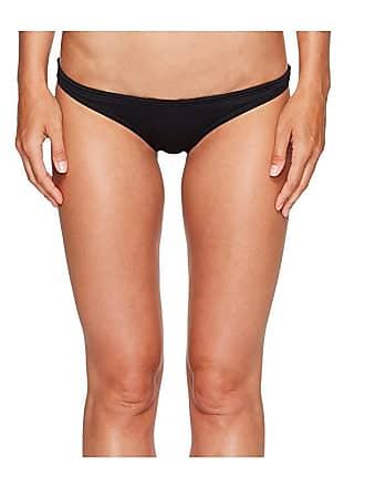 TYR Solid Mini Bikini Bottom (Black) Womens Swimwear