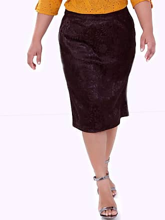 Vickttoria Vick Saia Renda Marrom (44)