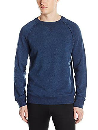 2(x)ist Mens Terry Pullover Sweatshirt, Denim Heather, Large