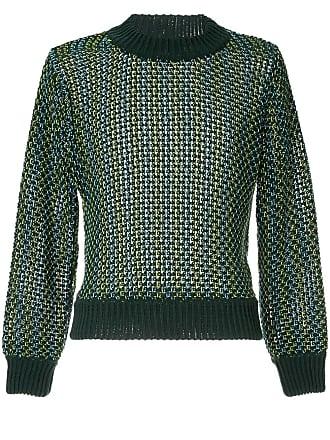 Namacheko Suéter chunky de tricô - Verde