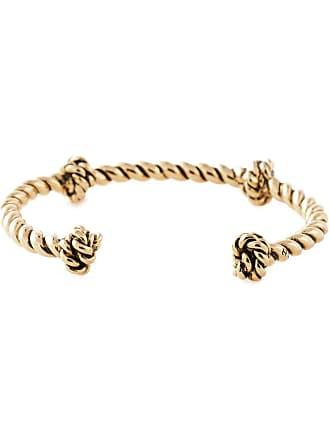 Aurélie Bidermann Bracelete banhado a ouro - Metálico