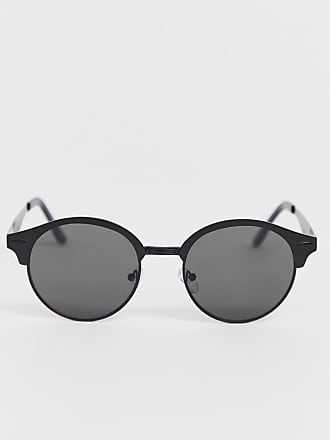 153f4ed73f70 Asos round sunglasses in matte black with smoke lens - Black