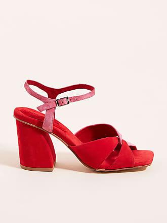 Jeffrey Campbell Antique Block-Heeled Sandals