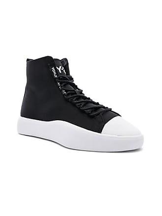 Yohji Yamamoto Bashyo Hi-Top Sneaker in Black
