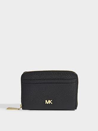 2da20f62ee2e Michael Michael Kors Zipped Around Coin Card Case in Black Mercer Pebble  Leather