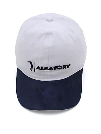 Aleatory Boné Aleatory Logo Branco