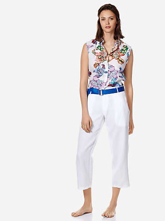 Vilebrequin Women Ready to Wear - Women Linen Pants Solid - PANT - FANELY - White - XXS - Vilebrequin