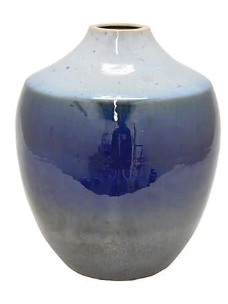 Three Hands 64938 Ceramic 12.5 in. Urn Table Vase - 64938