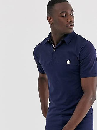 Le Breve Tall - Polo slim-Navy